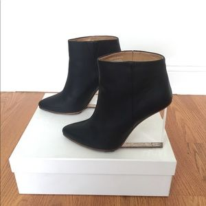Margiela for H&M floating heel boot for sale
